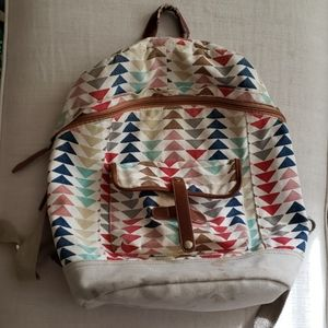 Colorful multi - use backpack
